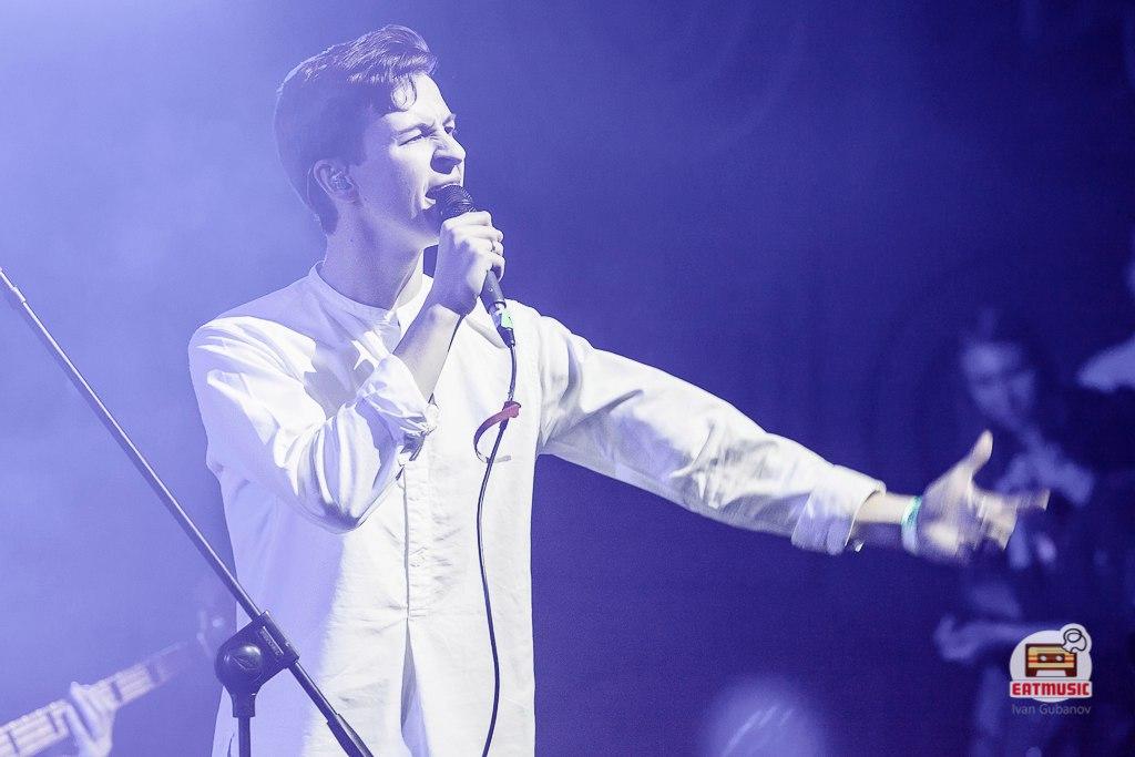 совместный концерт Pompeya и On-the-go в московском клубе RED