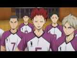 Haikyuu!! Karasuno vs Shiratorizawa ТВ 3 6 серия русская озвучка OVERLORDS / Волейбол!! 3 сезон 06 / Haikyu
