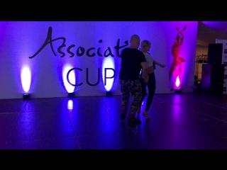 Alexander Kostenko y Olga Nagaitseva, bachata sensual workshop, 25.06.2017