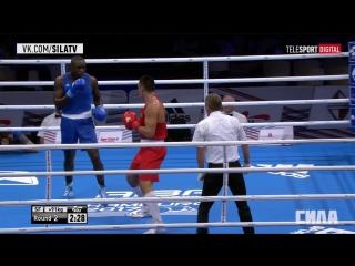 Чм по боксу 2017 Камшибек Кунхабаев vs Арсене Фоку
