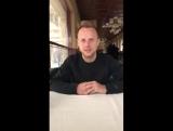 Дмитро Хомченовський вітає всіх читачів ФУТБОЛ УКРАЇНИ з прийдешнім Новим Роком!