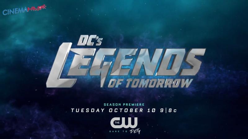 Легенды завтрашнего дня / Legends of Tomorrow - трейлер с Comic-Con в Full HD (2017)