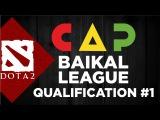 Квалификация Baikal League 11.02 La La Land vs Luna Gaming