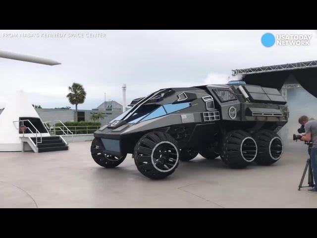 First Look Of NASA's Mars Rover Vehicle Bad Girls