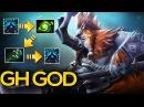 GH GOD EPIC Magnus Forcestaff Refresher Play Dota 2