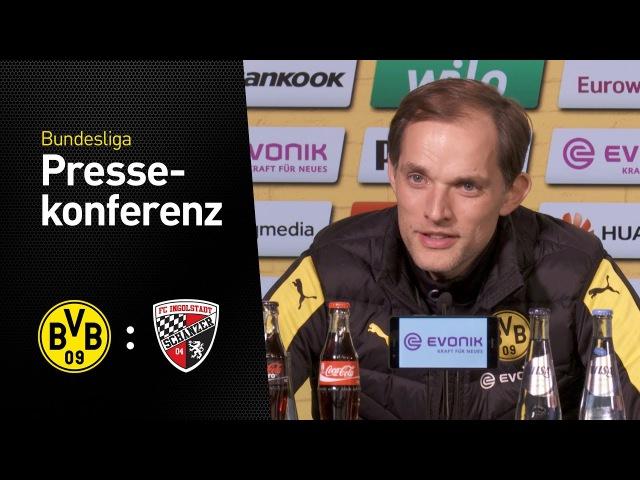 Thomas Tuchel nach dem Arbeitssieg gegen die Schanzer | BVB - FC Ingolstadt 1:0 » Freewka.com - Смотреть онлайн в хорощем качестве