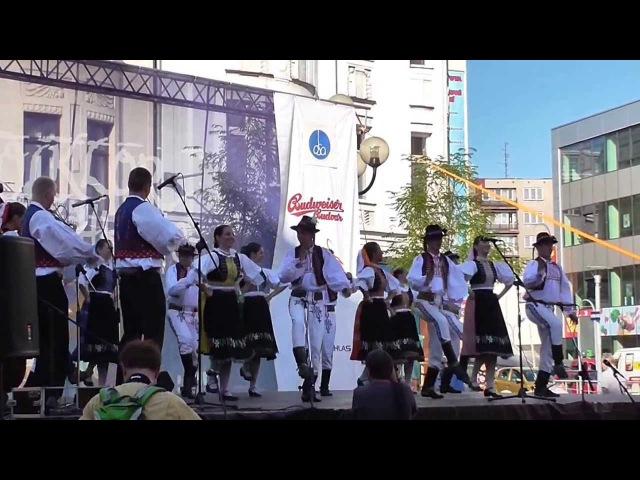 Czech Folk Dancing in Ostrava / České Lidové Tance v Ostravě (2/2)