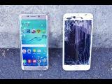 Samsung Galaxy S6 Edge Plus VS iPhone 6 Plus Drop Test!
