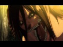 Attack on Titan - Titan Eren vs Female Titan - 60FPS