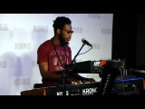 Cory Henry - Giant Steps - (HD) - NEW KORG ARP ODYSSEY DEMO NAMM 2015