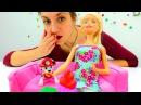 Познавательные видео для детей куколка Барби тушит пожар. Пожарная безопасност...