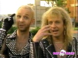 Judas Priest Making of Painkillers  Funny Dave Mustaine Megadeth Interview  1990