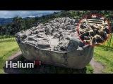 La piedra de Sayhuite Una masiva roca con m