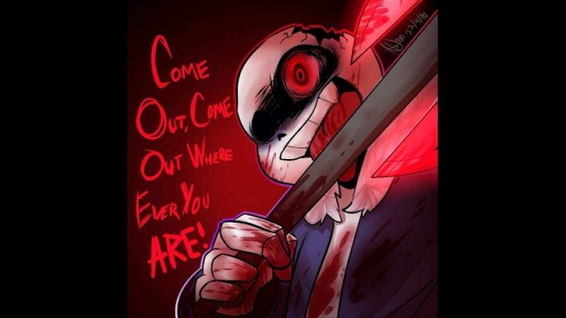 Horrortale hide and seek