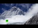 Прыжок с высоты 7700 метров над уровнем моря от первого лица