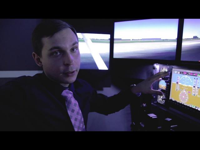 Летаем на тренажере Cessna 172