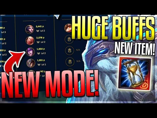 NEW GAME MODE!? ORNN OP NOW? (NEW ITEM) AZIR BUFFED! New 7.18 Changes - League of Legends