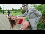 Alessandra Jane &amp Danny D - Fucking the busker (Brazzers, public, публичное, на улице, порно)