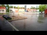 Злива в Фнлянд 10.08.2017