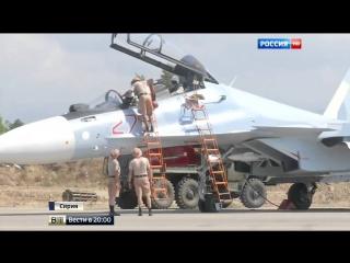 Операция ВКС РФ в Сирии как работают истребители