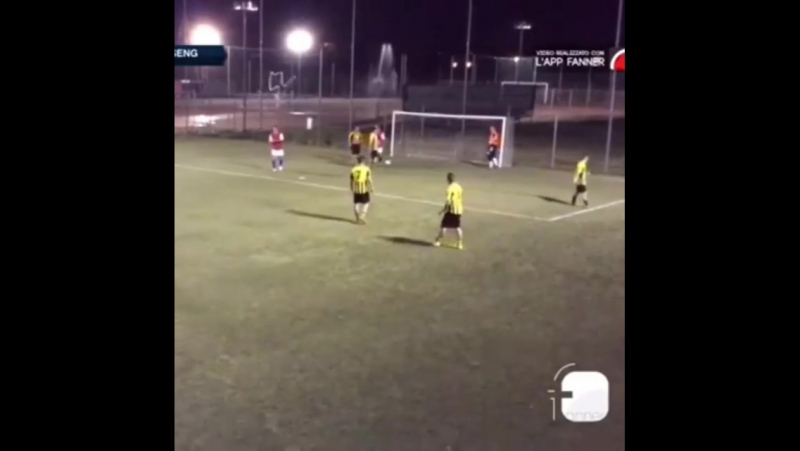 Latoccapiano tiro libre goal  come andare i... Рим 07.06.2017