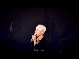 161015 ParkHyoshin(박효신) talk 1