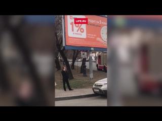 В Хабаровске напали на приемную управления ФСБ