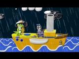 Уроки от Пинги и Кроки 58. Капитан. Лепим из пластилина