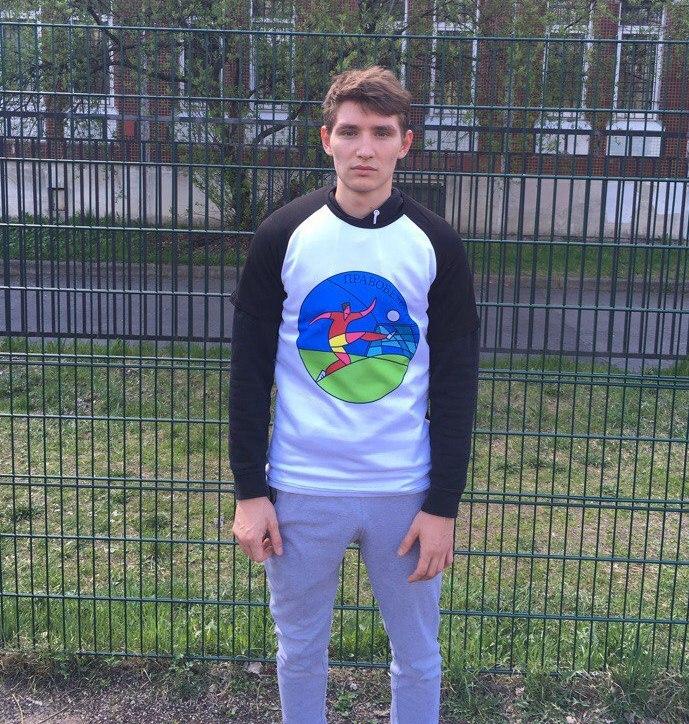 Иван Шангин с футболкой - подарком от Perfectee Sport.