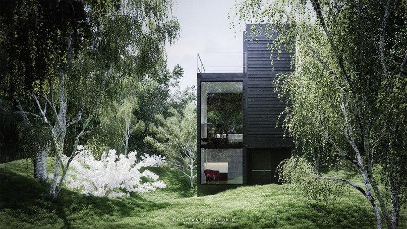 Подборка домов в современном стиле