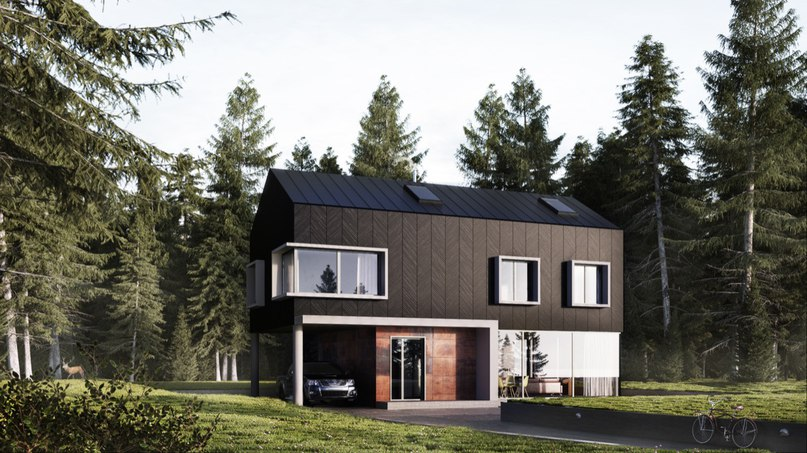 Подборка домов в современном стиле #архитектура@arsblog