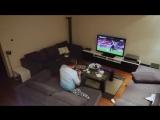 Жена жестко разыграла мужа, который захотел досмотреть матч один - Приколы до слез