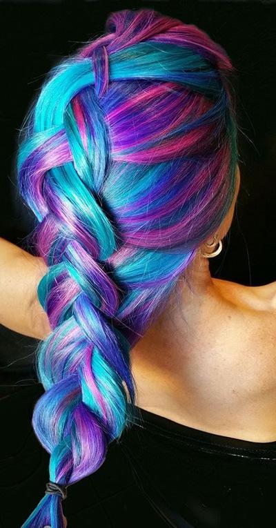 где в барноуле можно найти ярко синюю краску для волос