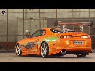Toyota Supra Dodge Charger - Making Of Revista FULLPOWER