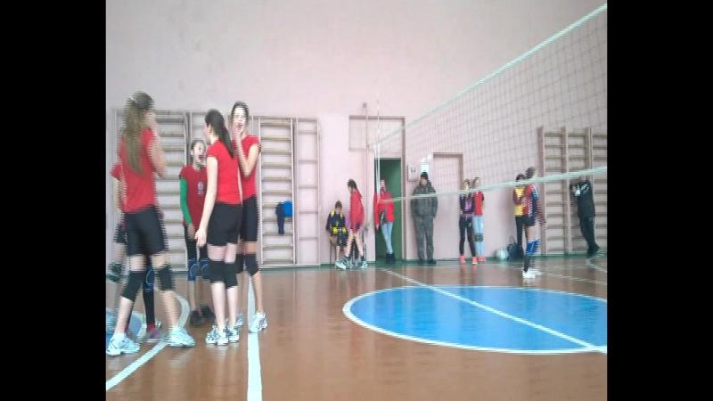 Волейбол. Ланівці - Гусятин 11.02.17 (дівчата 2003 р.н. і молодші)