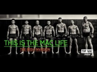 The Mac Life : Конор МакГрегор проводит медиа тренировку для