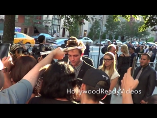 Robert Pattinson Arrives to the Good Times Premiere in NYC