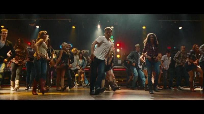 Весёлый танец кантри сцена из фильма Свободные HD72Ор