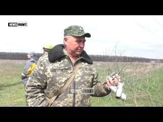 Восстановление перебитой украинскими обстрелами ЛЭП
