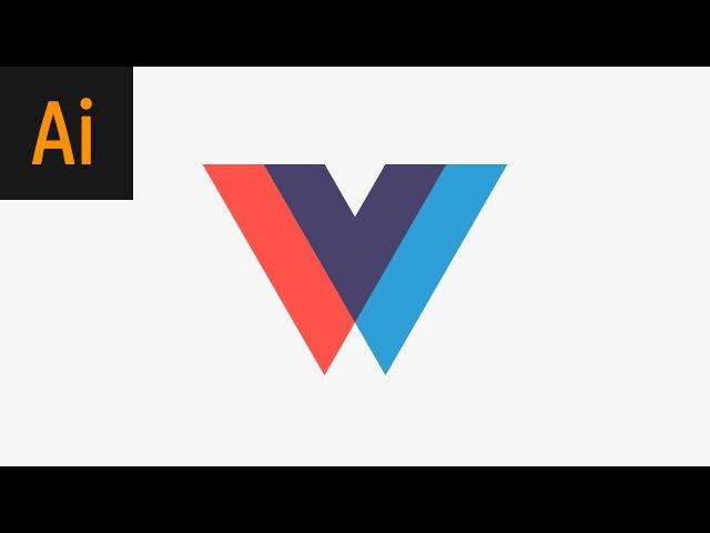 Design an Overlapping Logo Illustrator Tutorial