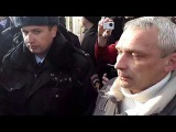Задержание на (не)митинге Навального в Костроме