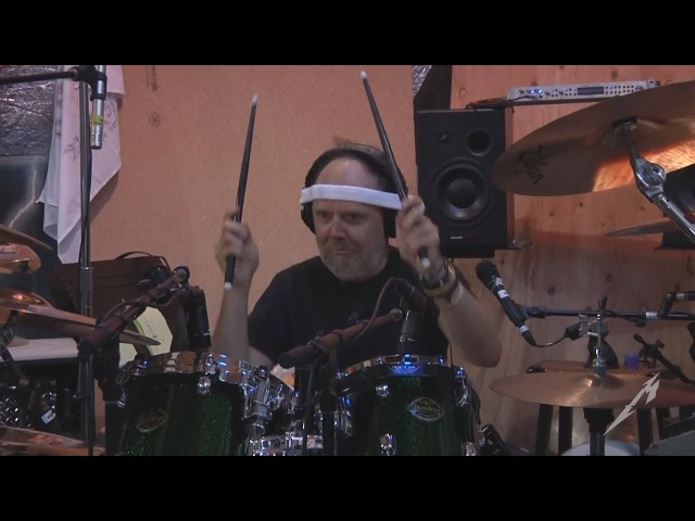 METALLICA - Lars Ulrich only - The Making Of Hardwired...To Self-Destruct