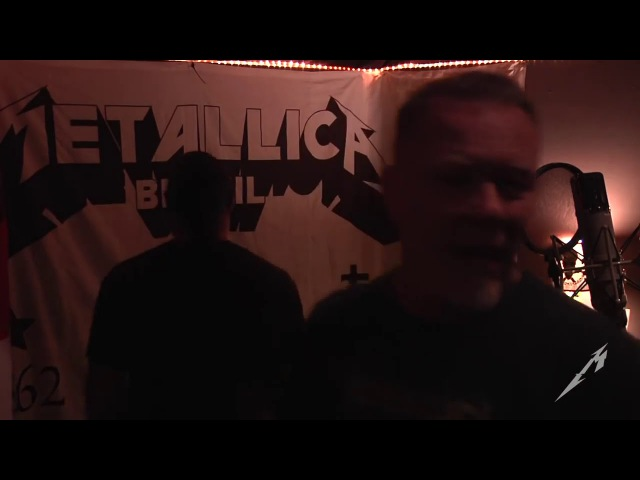 METALLICA - James Hetfield vocals only - The Making Of Hardwired...To Self-Destruct