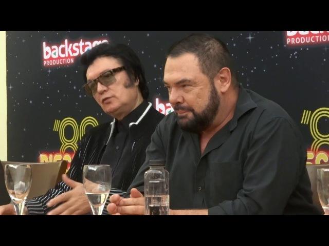 Press conference Discoteca 80 - FANCY