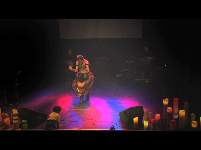 Japanese Tribal Fusion Belly Dance Kanon 華音 Eason Lin Isaac Mathis 田中ザック