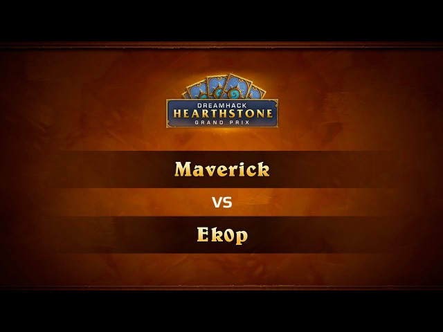 Maverick vs Ek0p, DreamHack Valencia 2017