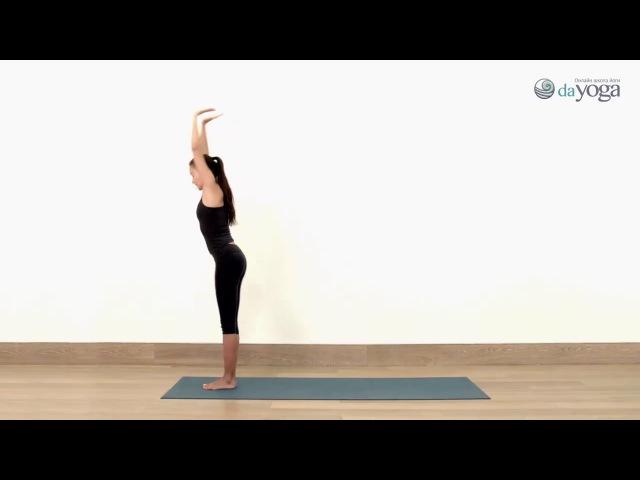 Урок 3 Силовая практика 1 Юлия Сафронова онлайн йога видео