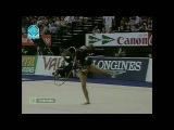 Алина Кабаева - обруч // Чемпионат Европы 2002