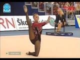 Алина Кабаева - булавы (многоборье) // Чемпионат Мира 2003