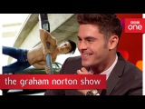 Zac Efrons impressive pose - The Graham Norton Show 2017 - BBC One